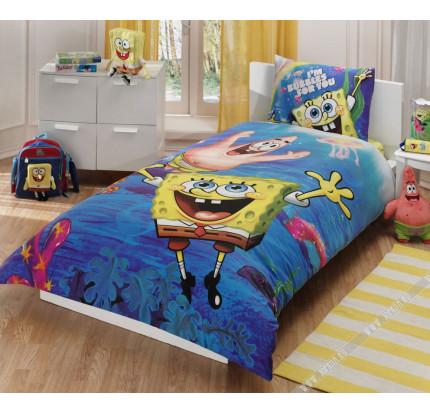 Детское постельное белье TAC Sponge Bob Underwater