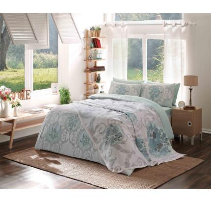 Комплект постельного белья с пике TAC Biella евро