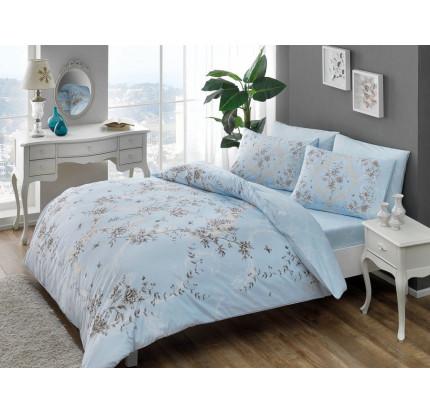Постельное белье TAC Beatrice (голубое)