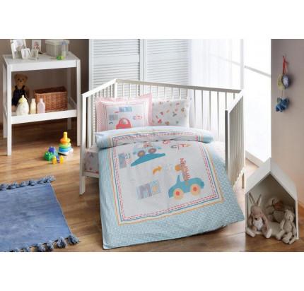 Детское белье в кроватку TAC BIO Little Cars