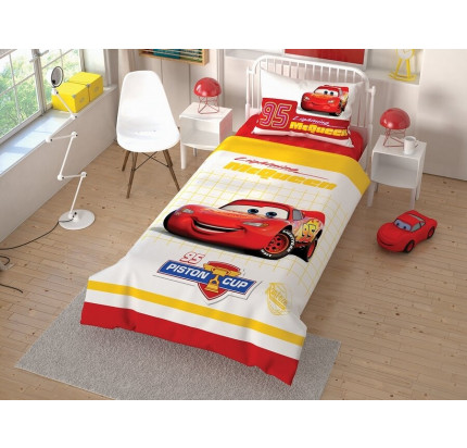 Детское постельное белье TAC Cars Cek