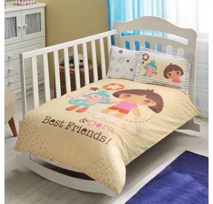 Детское белье в кроватку TAC Dora Best Friends