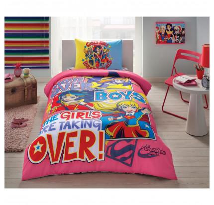 Детское постельное белье TAC Super Hero Girls