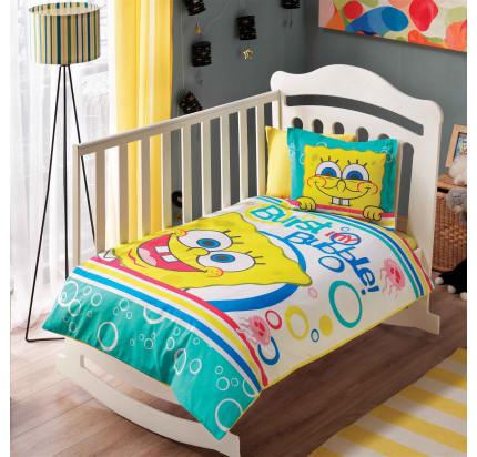 Детское белье в кроватку TAC Sponge Bob Bubble