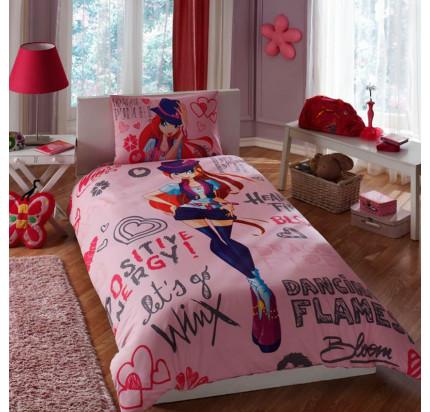 Детское постельное белье TAC Winx Holiday Bloom