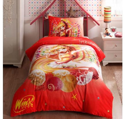 Детское постельное белье TAC Winx Stella Infinity