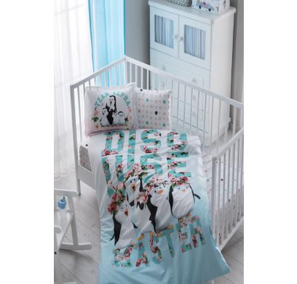 Детское белье в кроватку TAC Penguins Baby