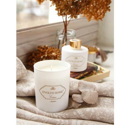 Tivolyo home Amber ароматическая свеча