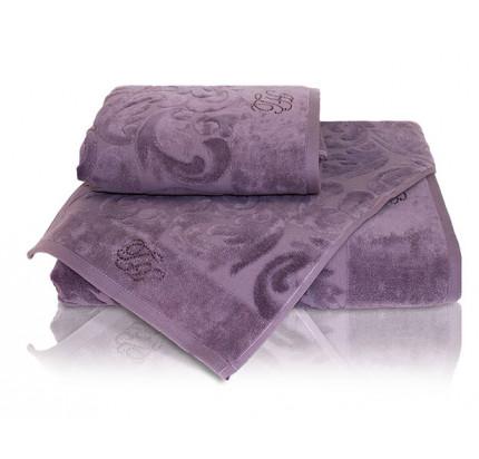 Набор полотенец Tivolyo Baroc (фиолетовый) 3 предмета