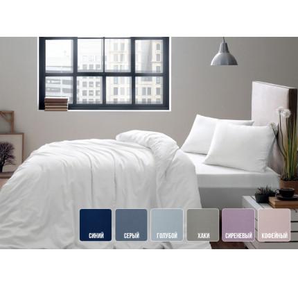 Постельное белье Tivolyo Home Basic (голубой)