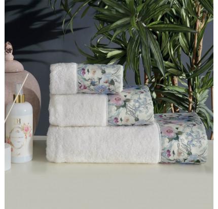 Набор полотенец Tivolyo Home Cava 3 предмета + ароматизатор