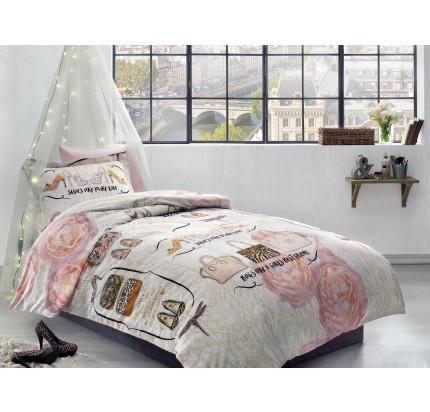 Постельное белье Tivolyo Inna 1.5-спальное