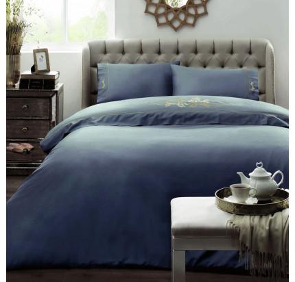 Постельное белье Tivolyo Home Imperial (голубое)