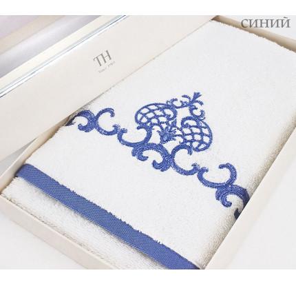 Полотенце Tivolyo King (синее) 50x100