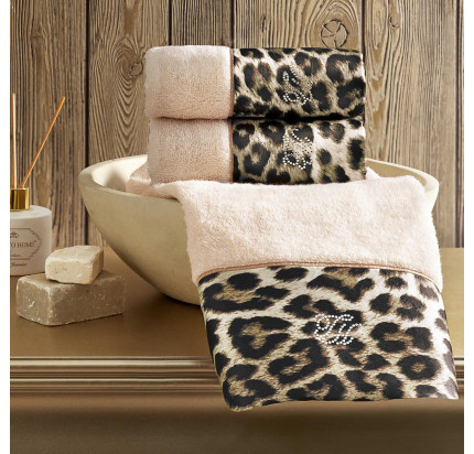 Набор салфеток Tivolyo Home Leopard (3 предмета) 30x50
