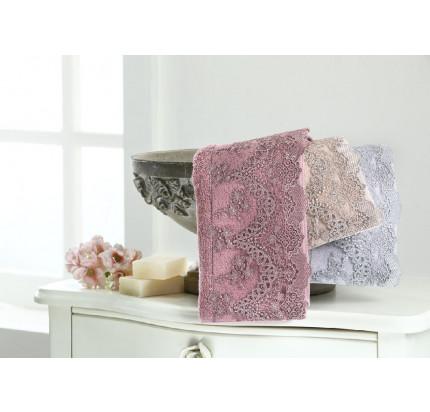 Набор салфеток Tivolyo Regina (3 предмета, фиолетовый) 30x50