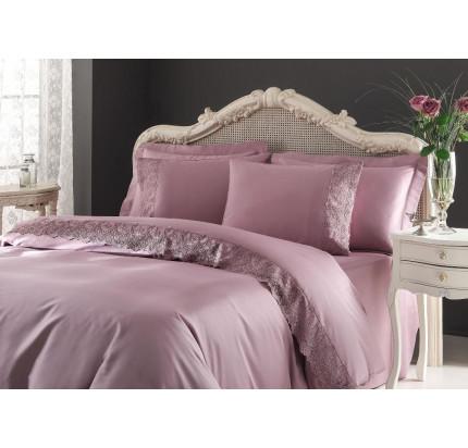 Постельное белье Tivolyo Home Regina (фиолетовое)