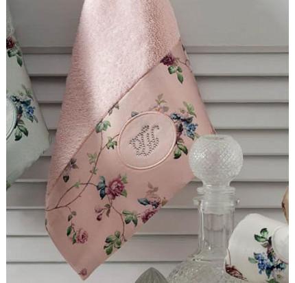 Набор салфеток Tivolyo Home Roseland lux розовый (3 предмета, 30x50)