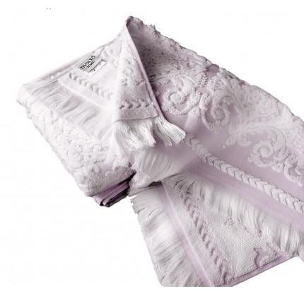 Набор полотенец Tivolyo Sandra (лиловый) 2 предмета