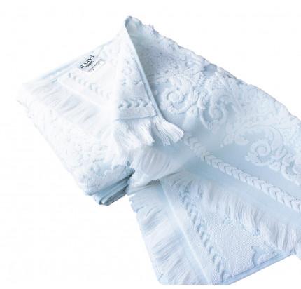 Набор полотенец Tivolyo Sandra (бирюзовый) 2 предмета