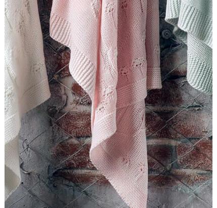 Детский плед Tivolyo Home Tree (розовый) 100x120