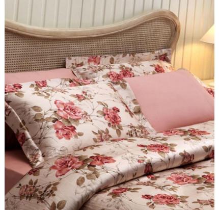 Постельное белье Tivolyo Home Victoria (розовое)