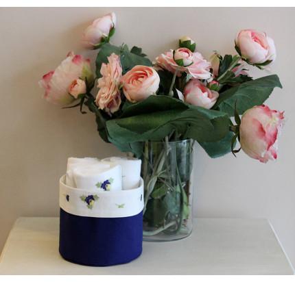 Cалфетки для кухни Tivolyo Violet (3 предмета, синий) 30x30