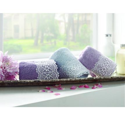 Набор салфеток Tivolyo Home Reply (3 предмета, серый, фиолетовый) 30x50