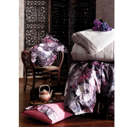 Постельное белье Zebra Casa Urape lilac евро