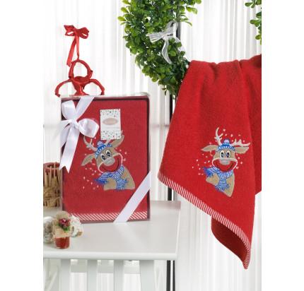 Новогоднее полотенце Karna Noel-2 V3 50x90