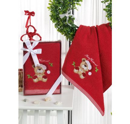 Новогоднее полотенце Karna Noel-2 V4 50x90