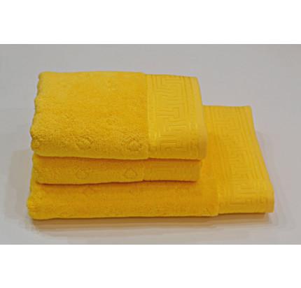 Полотенце Soft Cotton Vera (ярко-желтое)