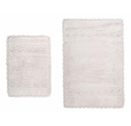Набор ковриков Irya Waltz bej (40x60+60x90)