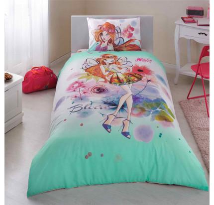 Детское постельное белье TAC Winx Bloom Watercolour
