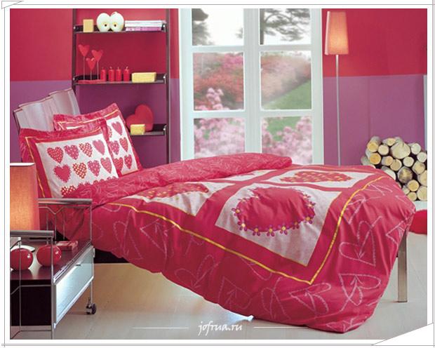 Ориганальная постель для влюбленніх