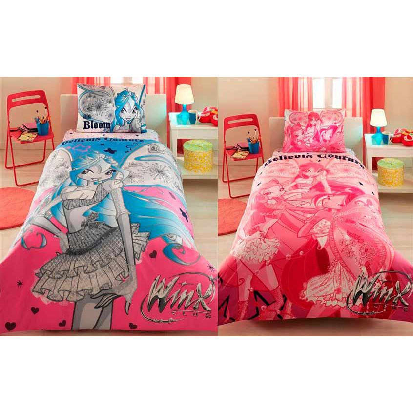 Детское постельное белье Винкс -TAC Winx Belevix Couture Flora